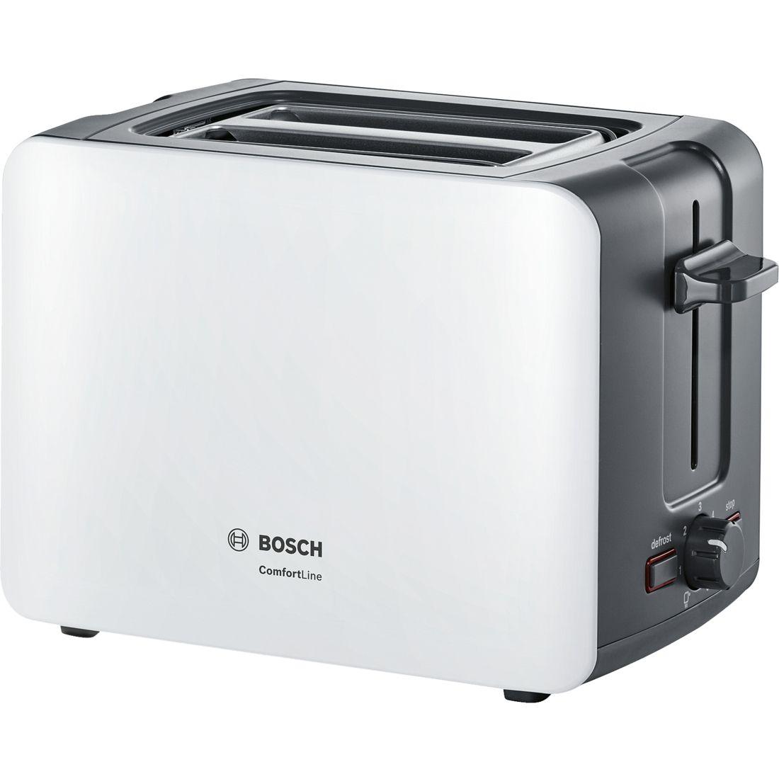 Apróhirdetés, Bosch TAT6A111 kenyérpirító fehér két szeletes