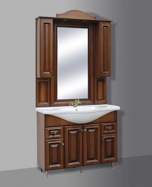 Barokk fürdõszoba szekrény 106 cm-es