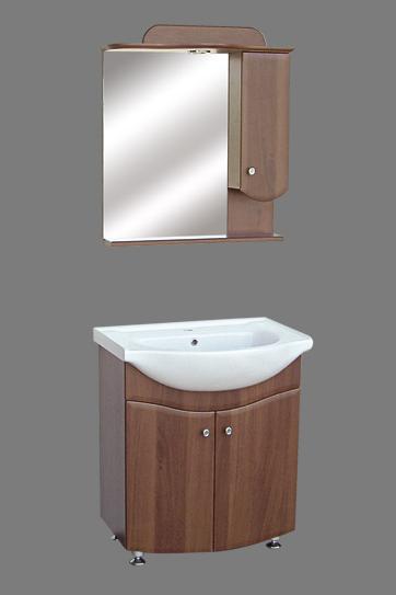 Helga fürdõszoba szekrény 65 cm-es dió