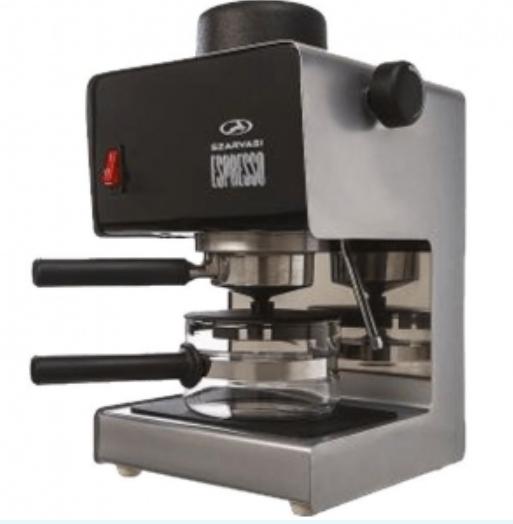 Apróhirdetés, Espresso elektromos kávéfőző, szürke