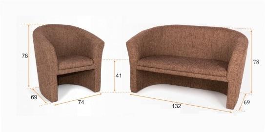 Barta fotel méretek